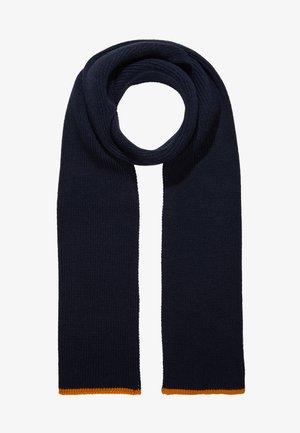 Huivi -  dark blue/ mustard