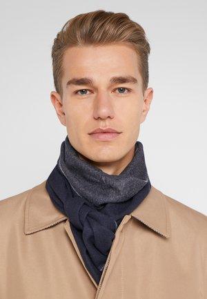 Schal - dark gray/dark blue