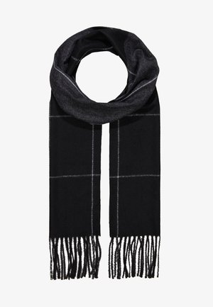 Scarf - black/light grey