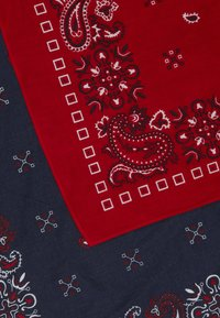 Pier One - 2 PACK - Foulard - red/dark blue - 3