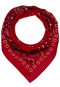 Pier One - 2 PACK - Foulard - red/dark blue - 2