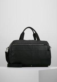 Pier One - LEATHER - Weekendbag - black - 0