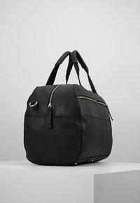 Pier One - LEATHER - Weekendbag - black - 3