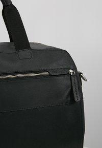 Pier One - LEATHER - Weekendbag - black - 6