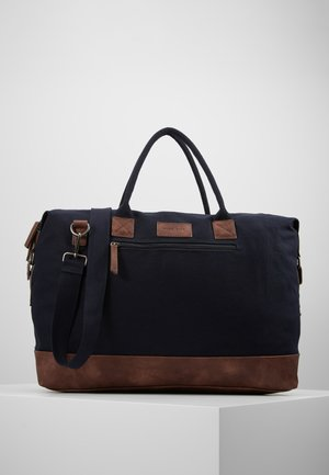 Taška na víkend - dark blue/brown