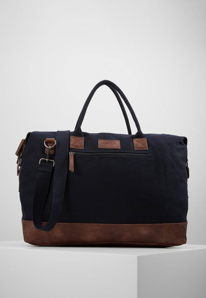 Pier One - Weekendtasker - dark blue/brown