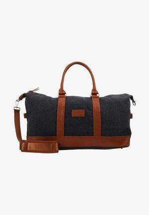 Weekend bag - black/cognac