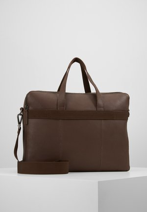 LEATHER - Aktovka - brown