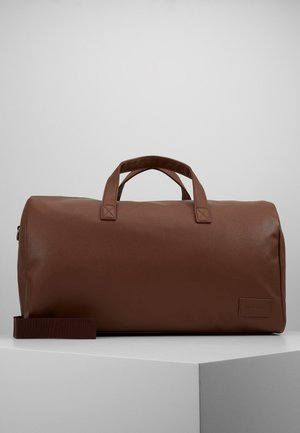 UNISEX - Weekend bag - cognac