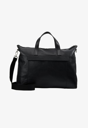 LEATHER - Torba weekendowa - black