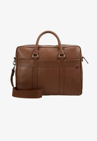 Pier One - LEATHER - Briefcase - brown - 5