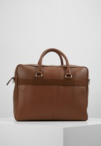Pier One - LEATHER - Briefcase - brown - 2