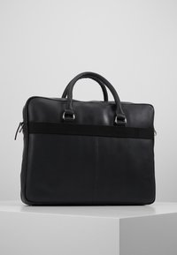 Pier One - LEATHER - Briefcase - black - 2