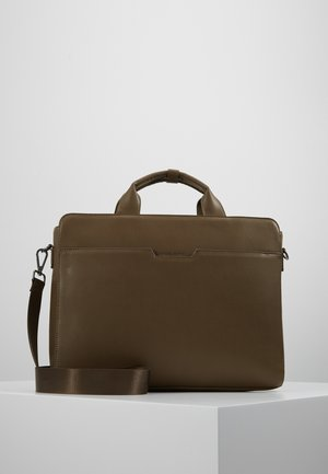 Briefcase - olive