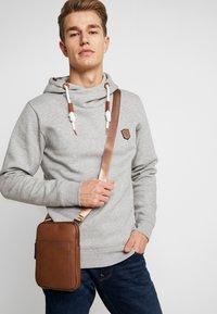 Pier One - Across body bag - dark brown - 1