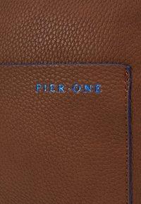Pier One - Across body bag - dark brown - 6
