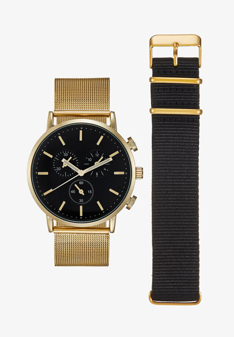 Pier One - Montre - gold-coloured/black