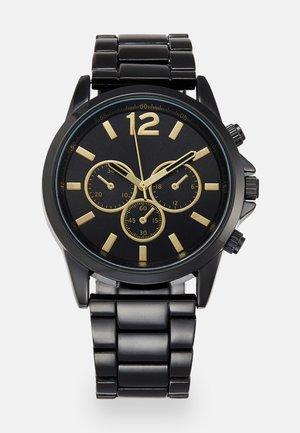 Uhr - black/gold-coloured