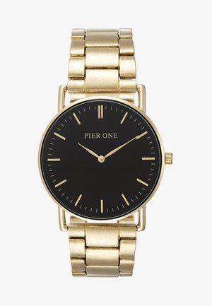 Watch - gold-coloured/black