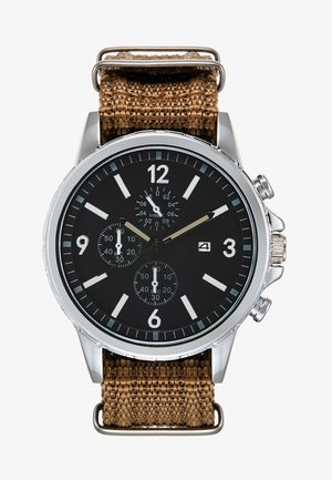 Montre - brown/silver-coloured