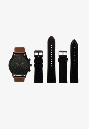 SET - Montre - black/cognac