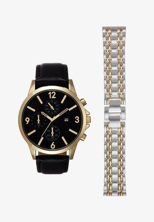 Montre - black/gold-coloured/silver-coloured