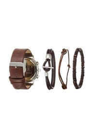 Pier One - SET - Horloge - cognac - 1