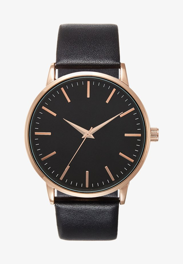 Orologio - black/rose gold