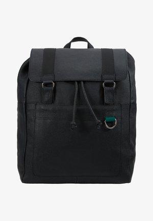 LEATHER UNISEX - Plecak - black