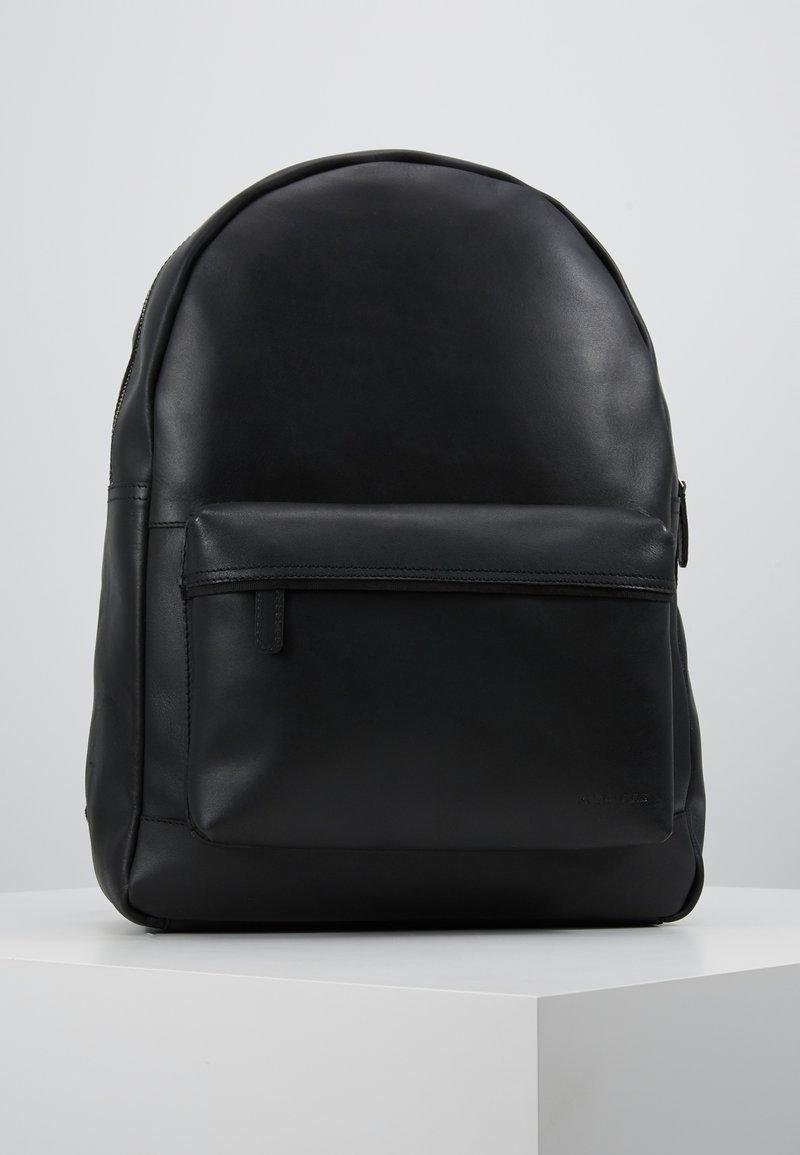 Pier One - UNISEX LEATHER  - Batoh - black