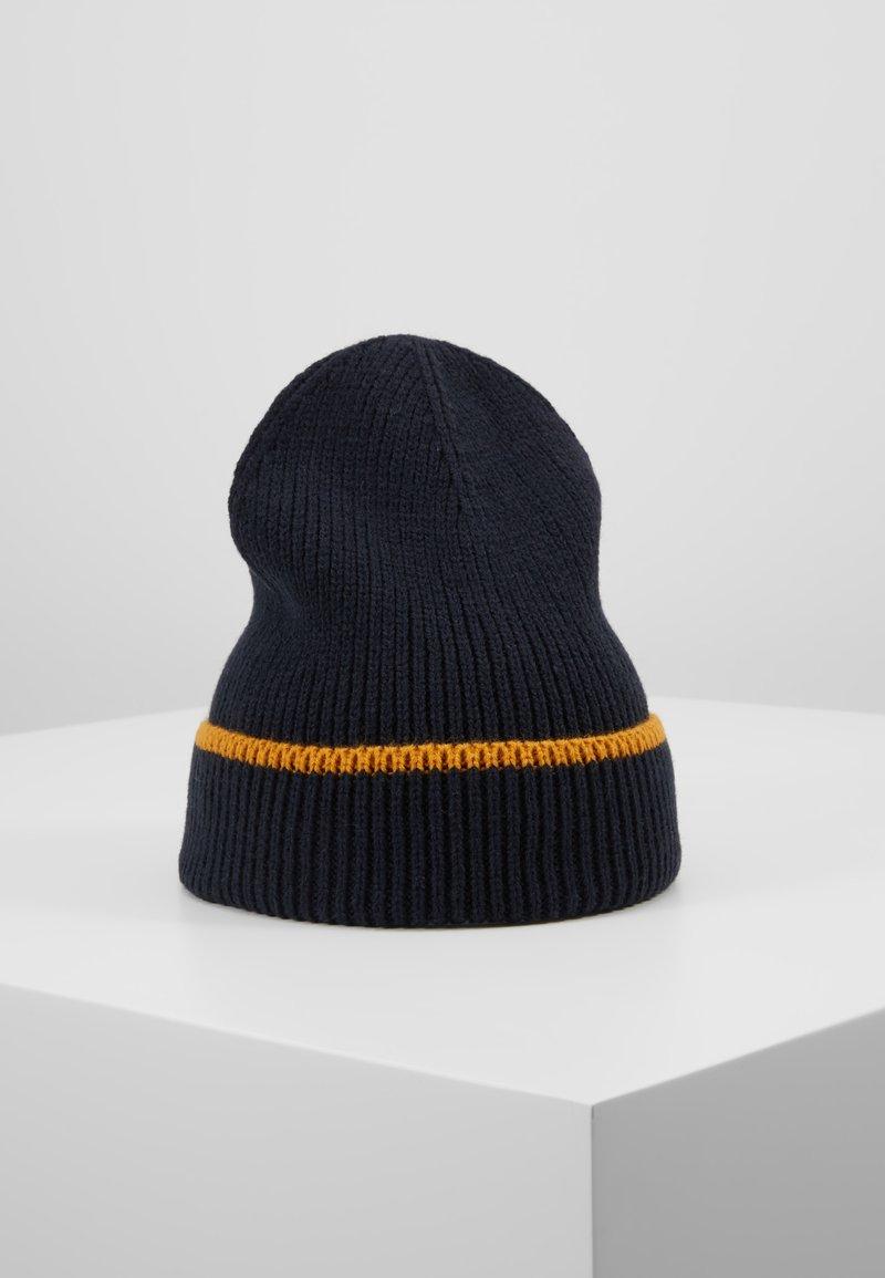 Pier One - Gorro - dark blue/mustard