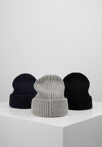 Pier One - Bonnet - grey/dark blue/black - 2