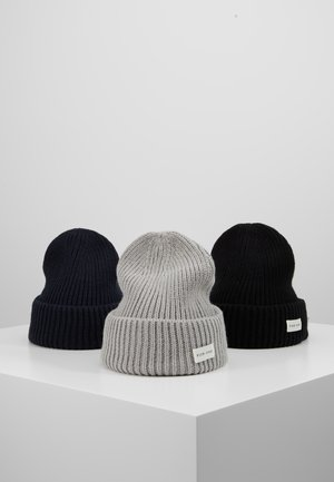 Bonnet - grey/dark blue/black