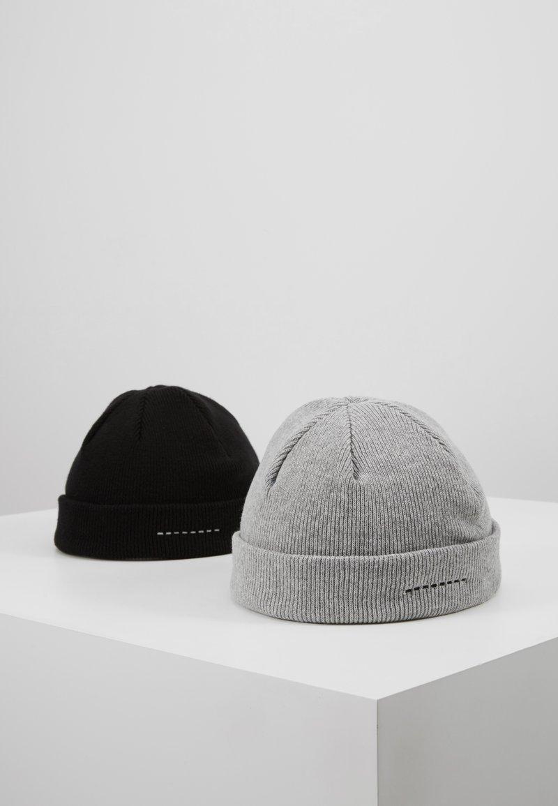 Pier One - Čepice - light grey/black
