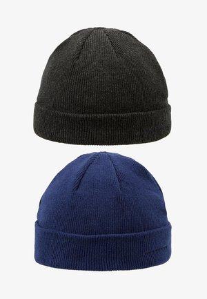 Bonnet - dark gray/dark blue