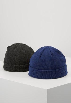 Čepice - dark gray/dark blue