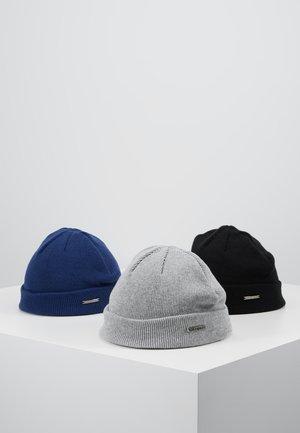 Čepice - grey/dark blue/black