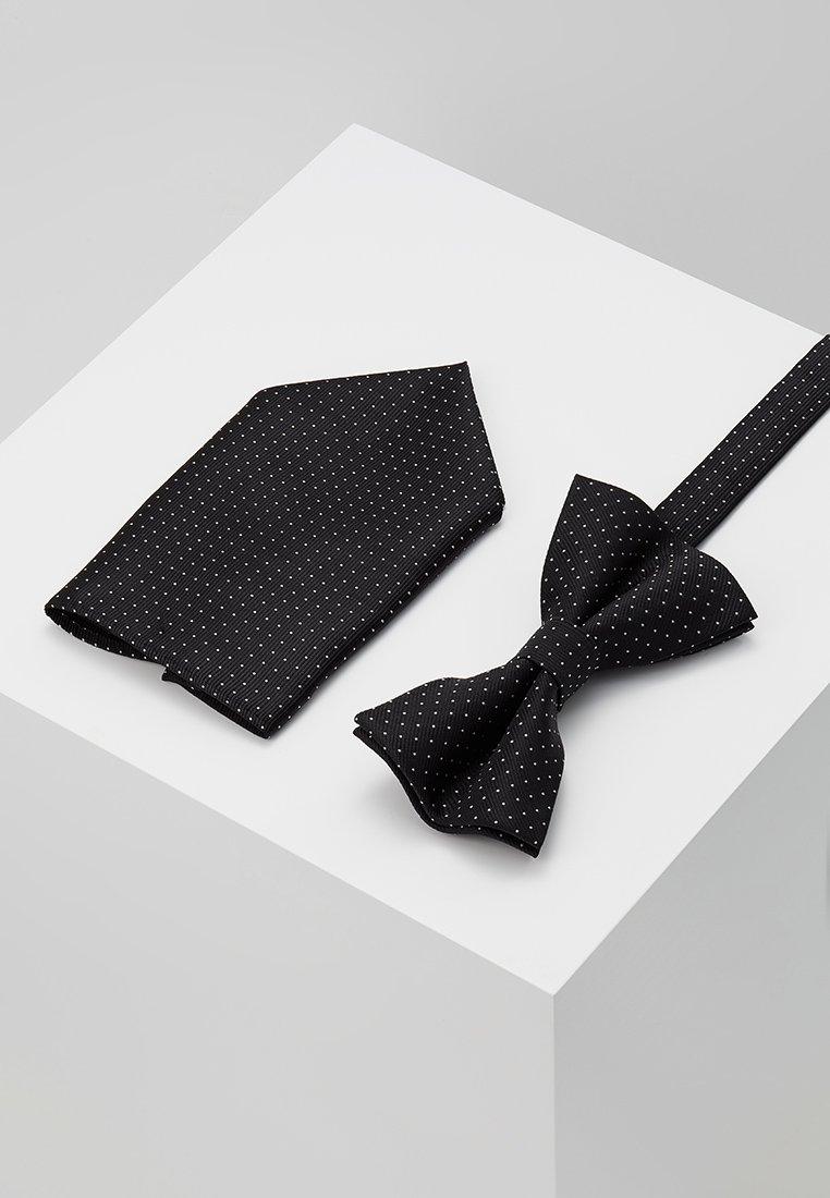 Pier One - SET - Pañuelo de bolsillo - black