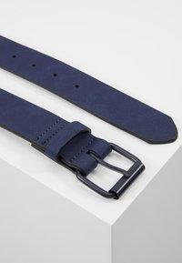 Pier One - UNISEX - Belt - dark blue - 2