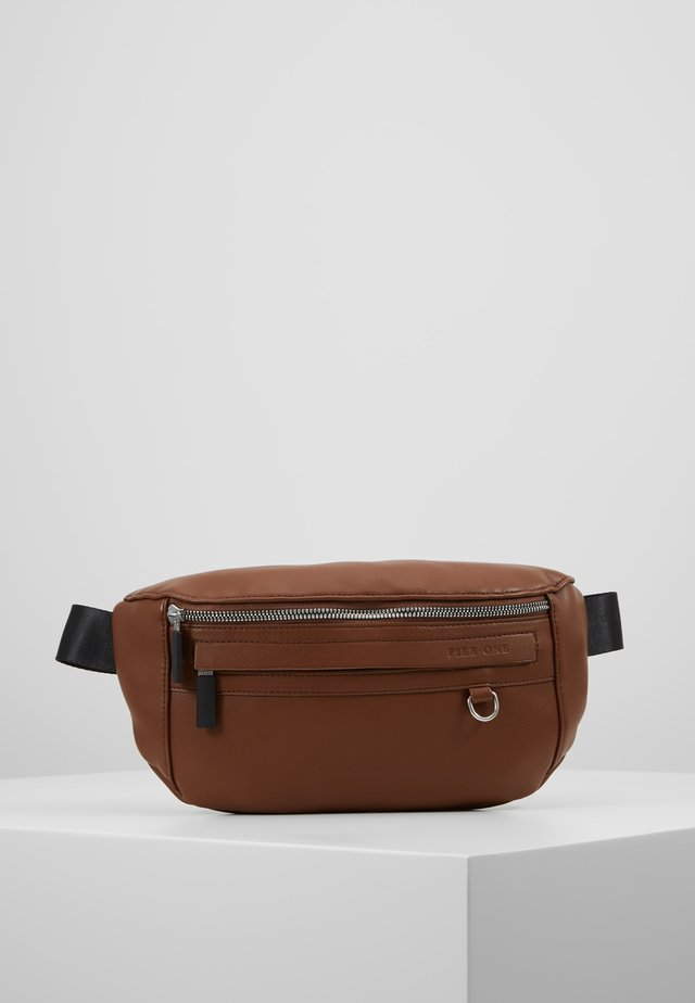 UNISEX - Bum bag - dark brown