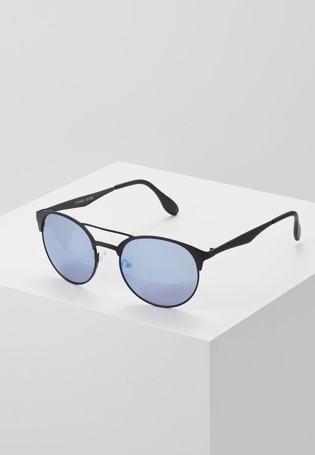 UNISEX - Sonnenbrille - black/blue