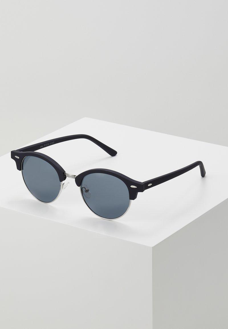 Pier One - UNISEX - Sunglasses - dark blue