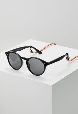Set mit Brillenkette - Sunglasses - black