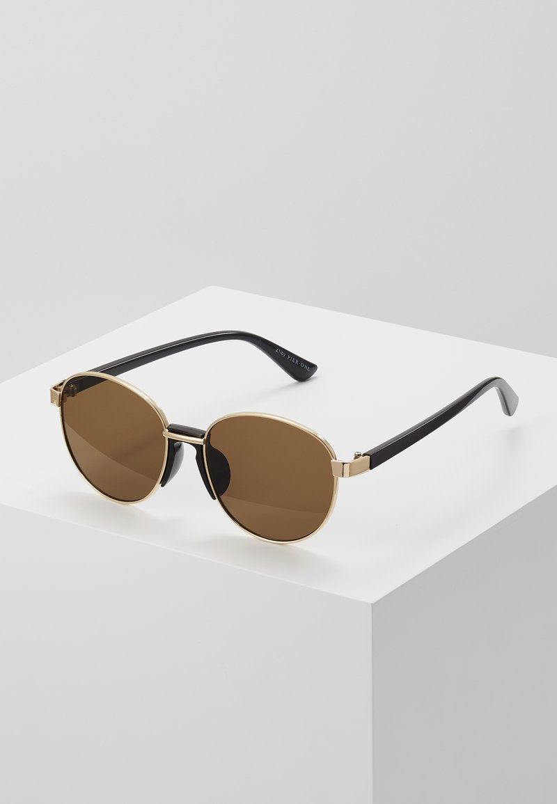Pier One - UNISEX - Sunglasses - gold-coloured