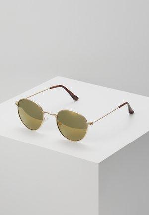 UNISEX - Occhiali da sole - gold-coloured