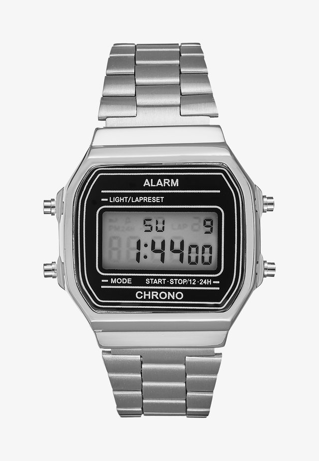 UNISEX - Digitaal horloge - silver-coloured