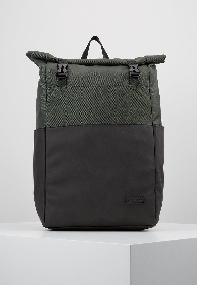 Pier One - UNISEX - Rucksack - khaki/brown