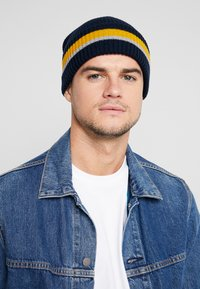 Pier One - Beanie - dark blue/light grey - 1