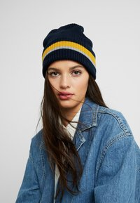 Pier One - Beanie - dark blue/light grey - 3