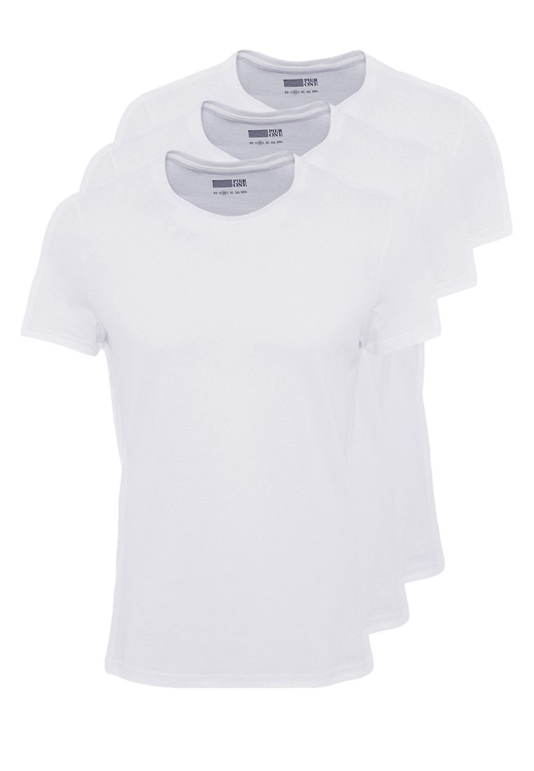 Pier One - 3 PACK - T-shirts - white